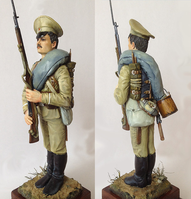 Figures: Private, Leib Guard Semyonovsky regt.