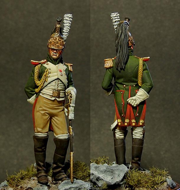 Figures: Dragoon of Emperor's Guard