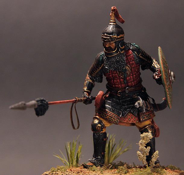 Figures: Noble Golden Horde warrior, XIV cent.