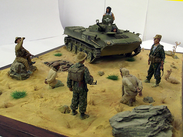 Dioramas and Vignettes: Ask the desert...