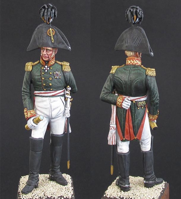 Figures: Russian general, 1812