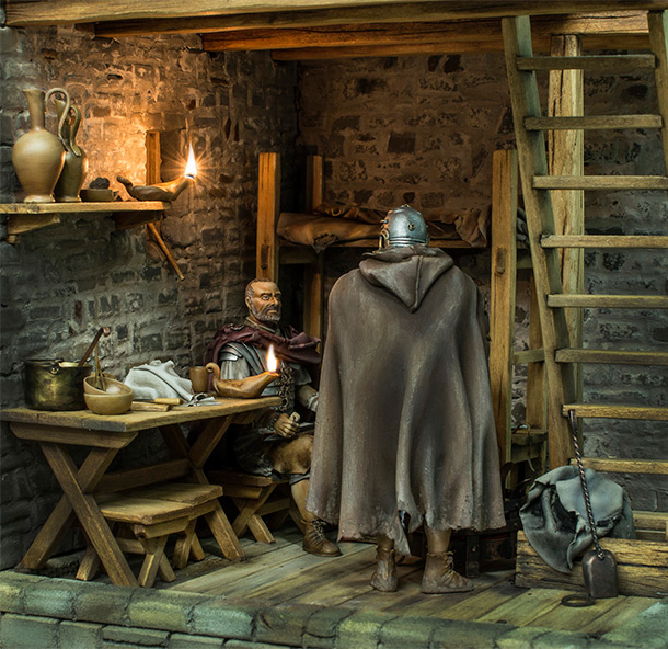 Dioramas and Vignettes: Night watch. Frontier of the Empire