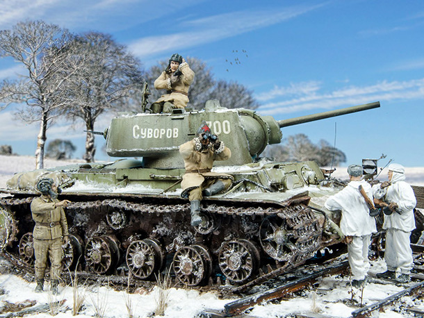 Dioramas and Vignettes: Winter 1942