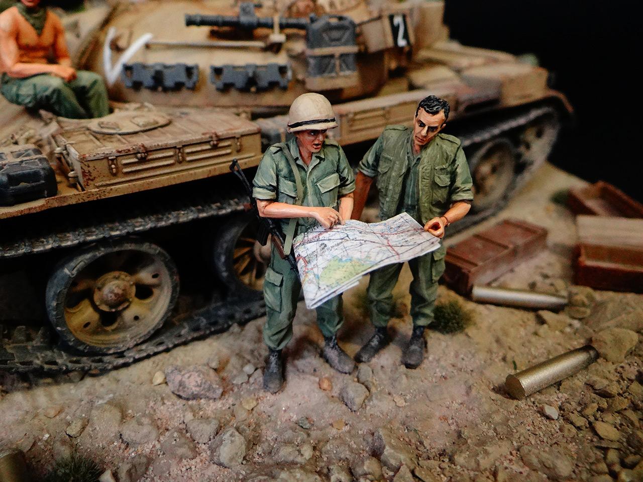 Dioramas and Vignettes: Tiran 4. Yom Kippur War, photo #11