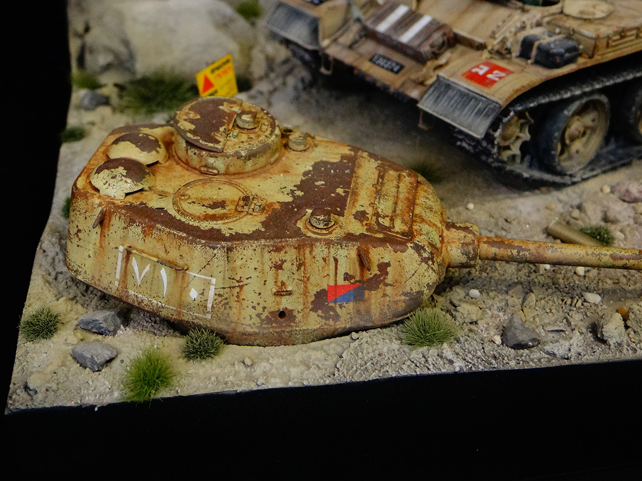 Dioramas and Vignettes: Tiran 4. Yom Kippur War, photo #13