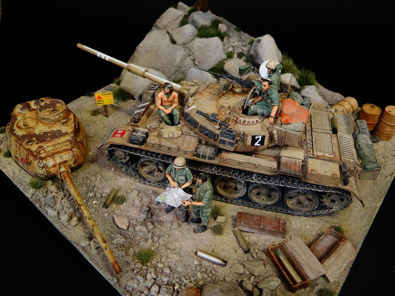 Dioramas and Vignettes: Tiran 4. Yom Kippur War, photo #3
