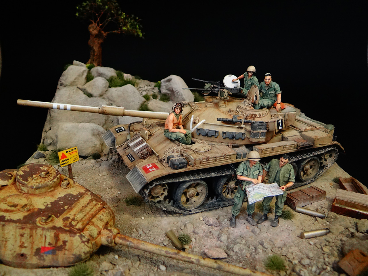 Dioramas and Vignettes: Tiran 4. Yom Kippur War, photo #4