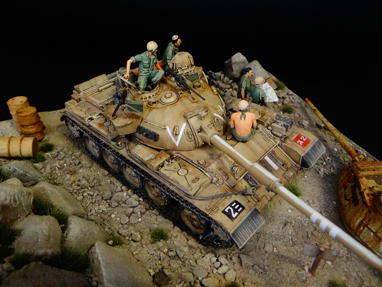 Dioramas and Vignettes: Tiran 4. Yom Kippur War, photo #5
