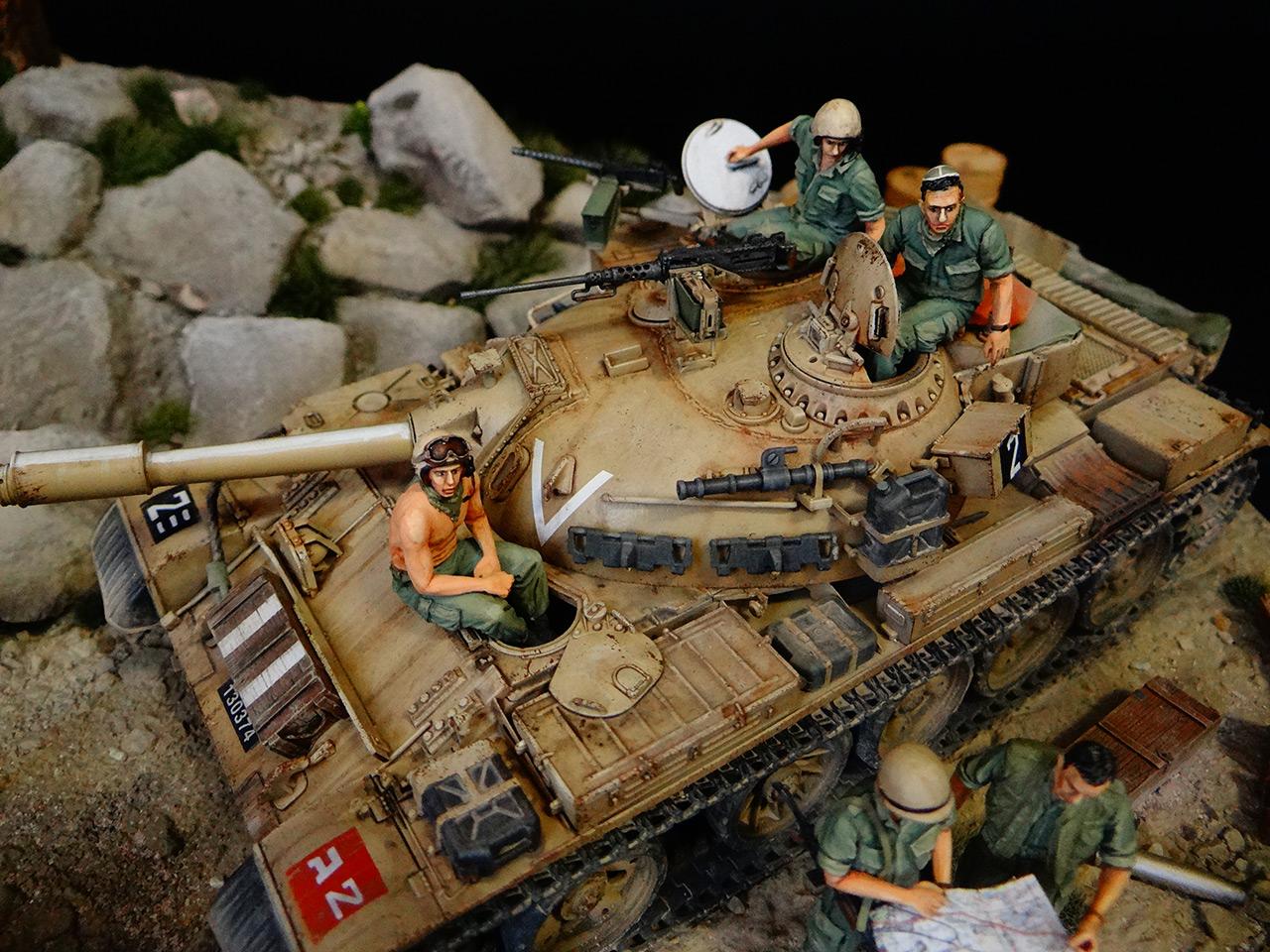Dioramas and Vignettes: Tiran 4. Yom Kippur War, photo #6