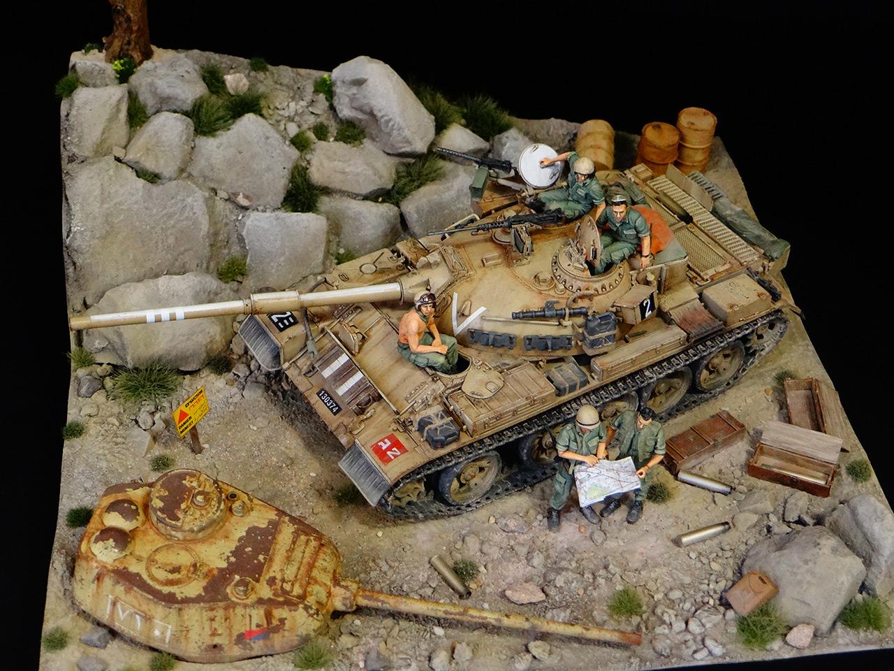 Dioramas and Vignettes: Tiran 4. Yom Kippur War, photo #7