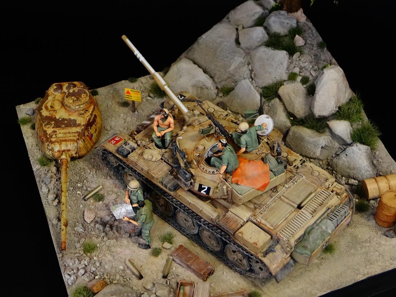 Dioramas and Vignettes: Tiran 4. Yom Kippur War, photo #8
