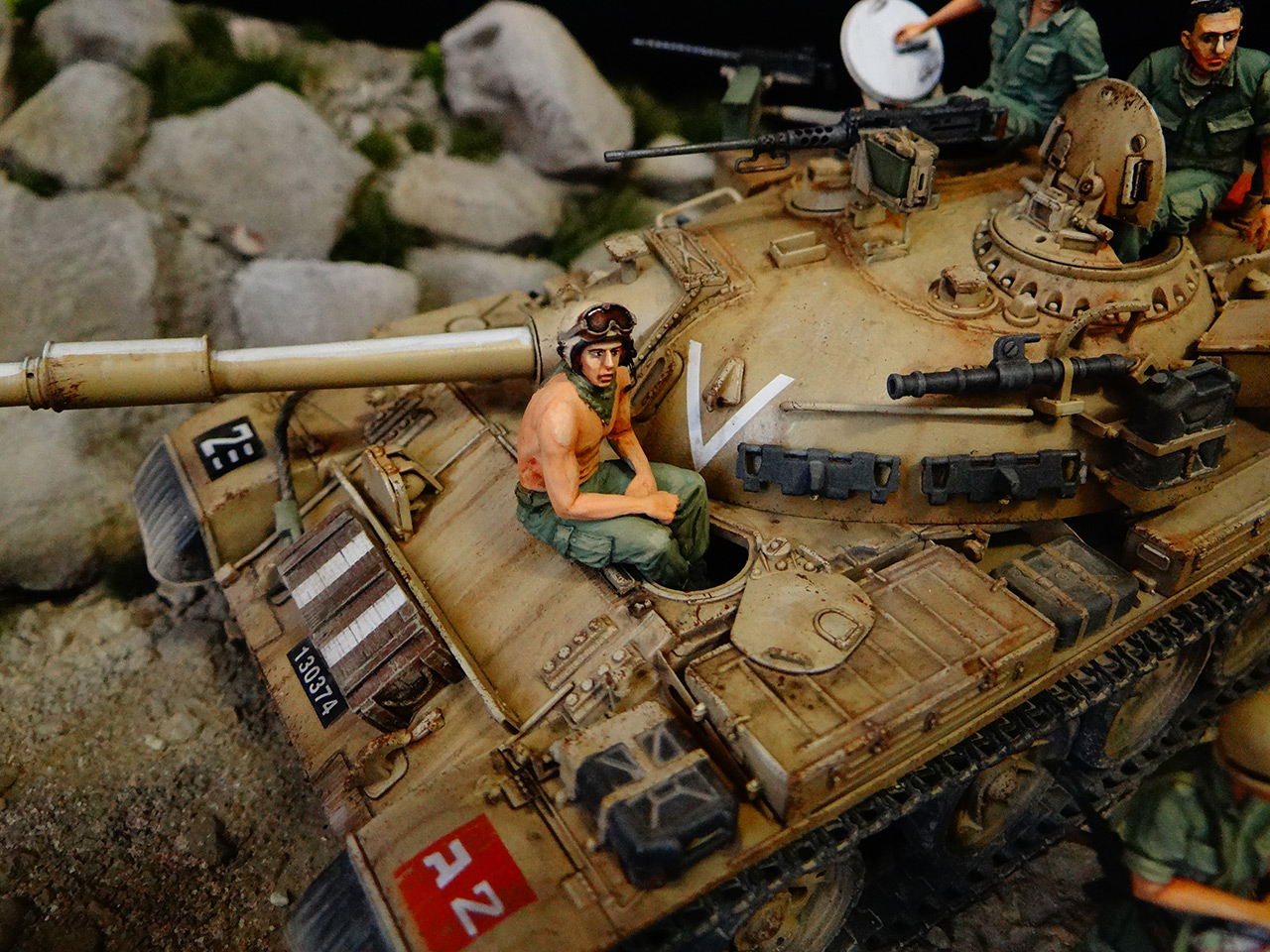Dioramas and Vignettes: Tiran 4. Yom Kippur War, photo #9