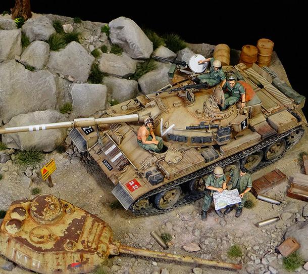 Dioramas and Vignettes: Tiran 4. Yom Kippur War