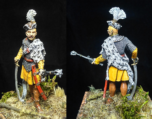 Figures: Hussar captain