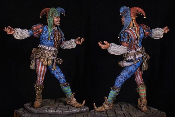 Figures: Сourt jester