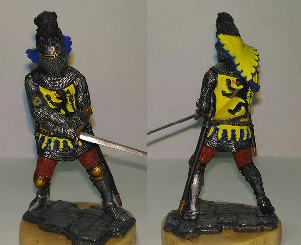 Figures: Tournament knight