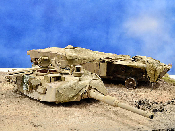 Dioramas and Vignettes:  М1А2 Abrams. Turretless