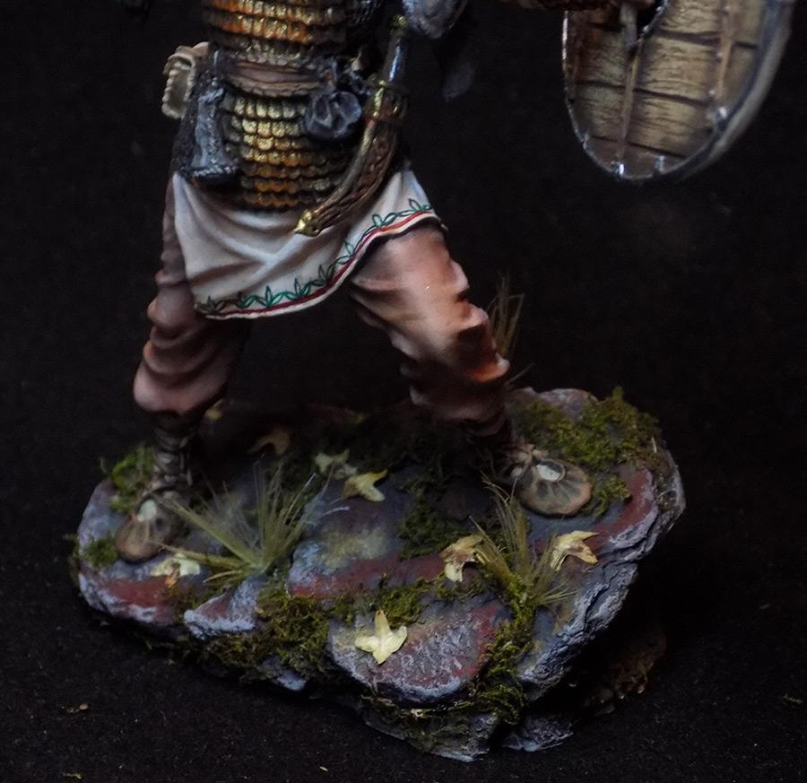 Figures: Dacian warrior, photo #11