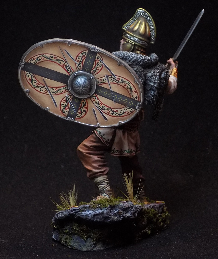 Figures: Dacian warrior, photo #5