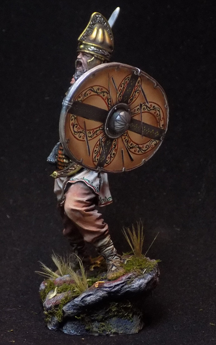 Figures: Dacian warrior, photo #6