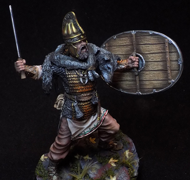 Figures: Dacian warrior