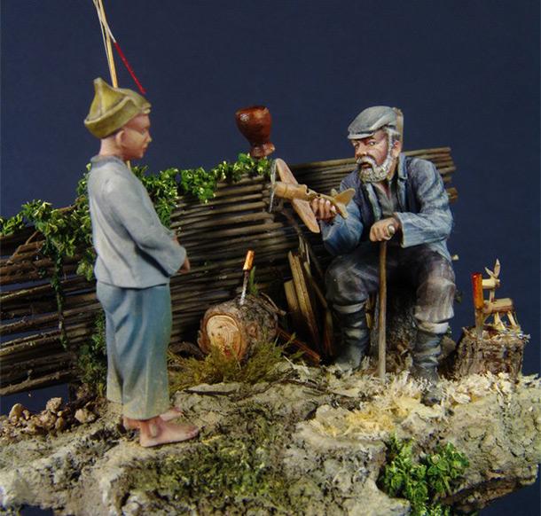 Dioramas and Vignettes: Grandad Schukar