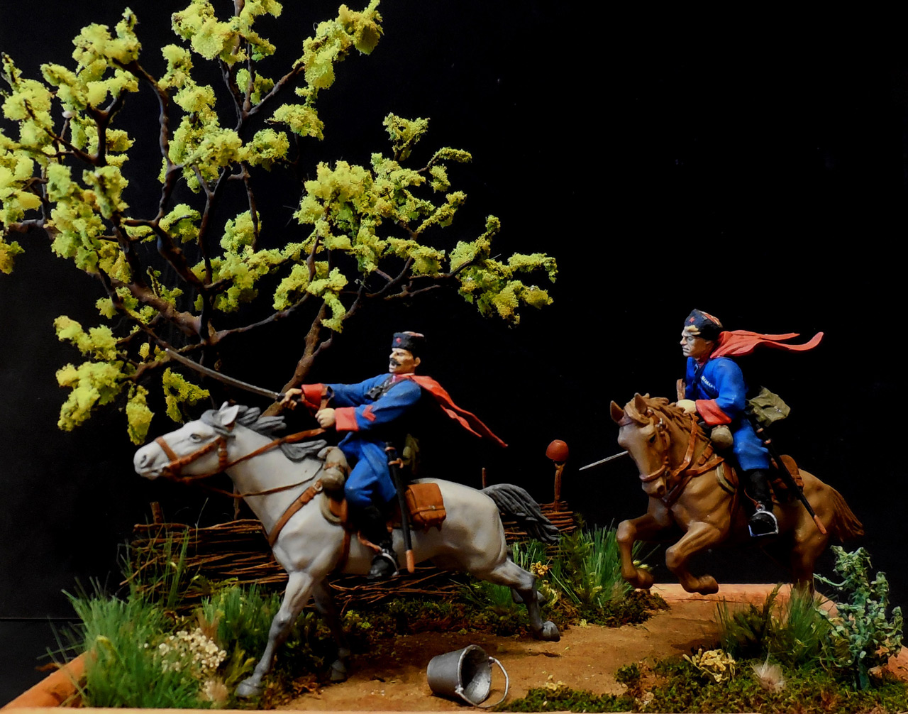 Dioramas and Vignettes: Kuban cossacks, photo #1