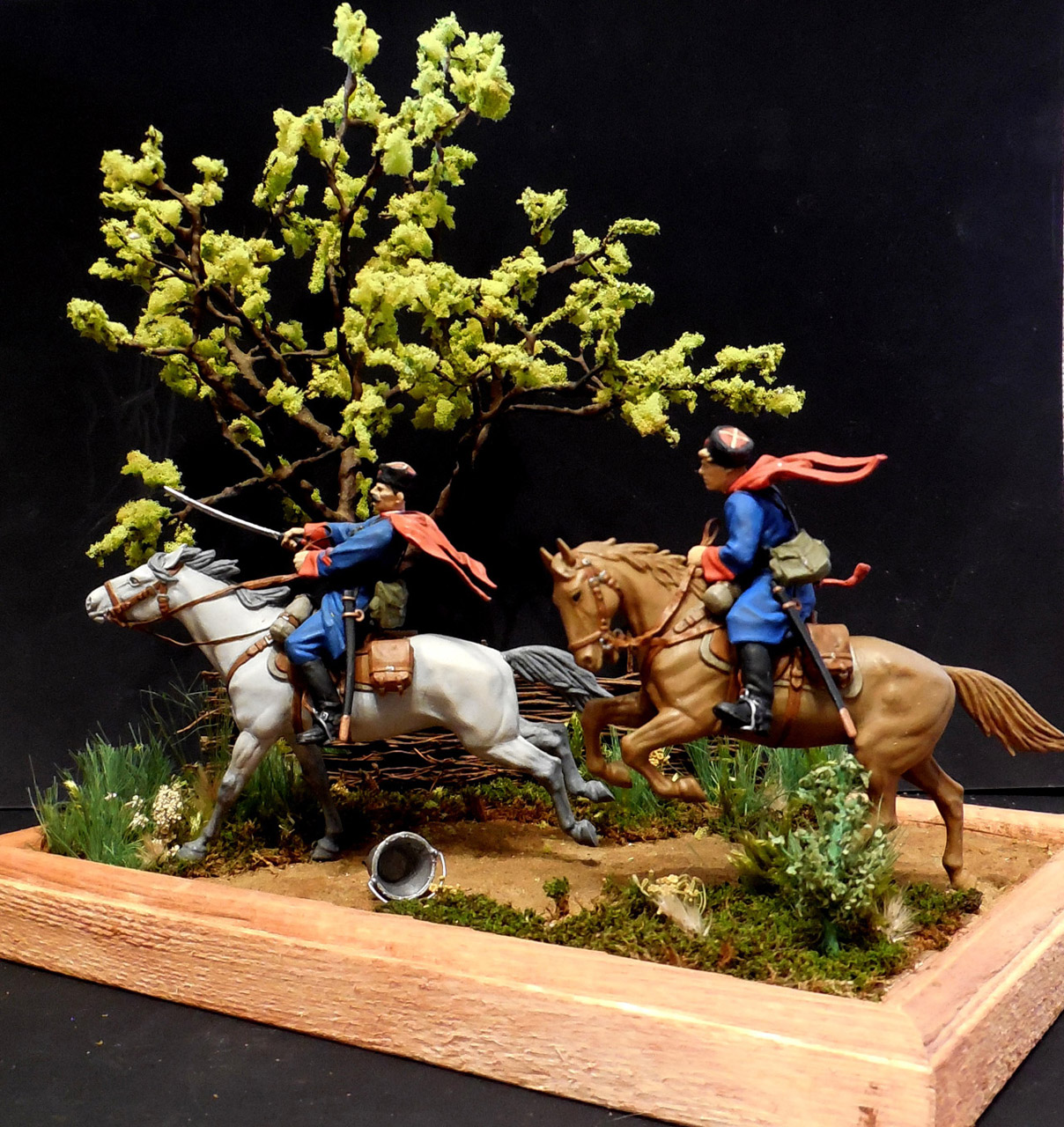 Dioramas and Vignettes: Kuban cossacks, photo #12