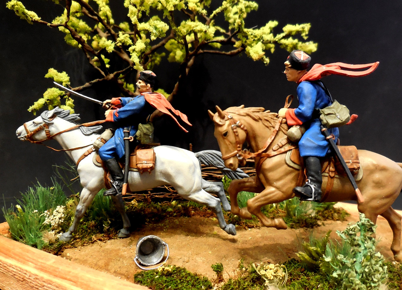 Dioramas and Vignettes: Kuban cossacks, photo #15