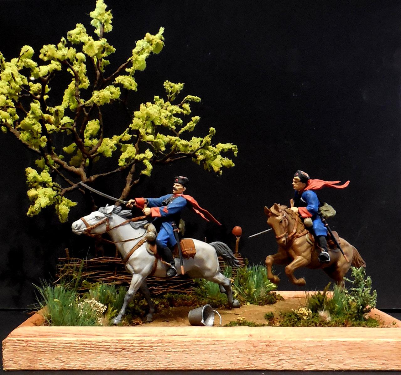 Dioramas and Vignettes: Kuban cossacks, photo #16