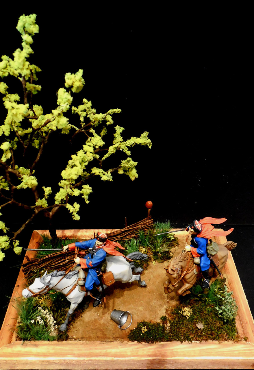 Dioramas and Vignettes: Kuban cossacks, photo #17