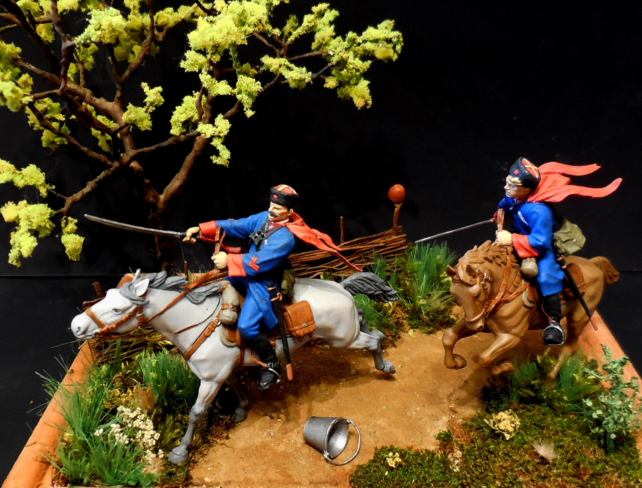 Dioramas and Vignettes: Kuban cossacks, photo #2