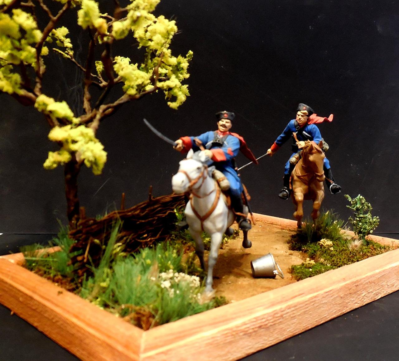 Dioramas and Vignettes: Kuban cossacks, photo #4