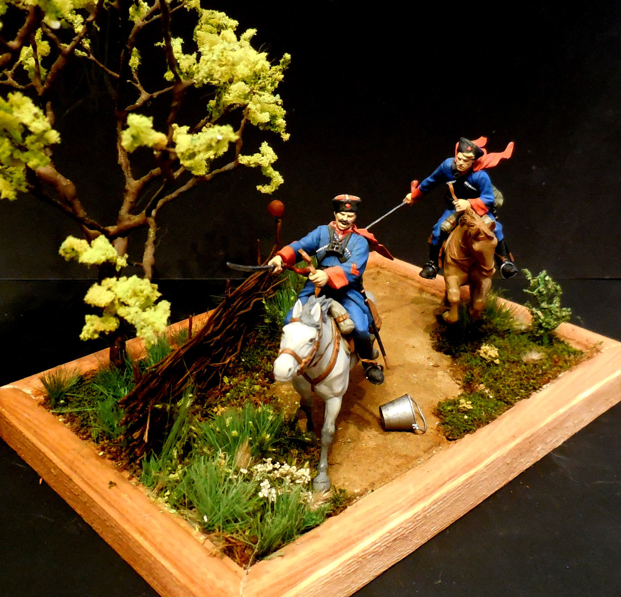 Dioramas and Vignettes: Kuban cossacks, photo #5