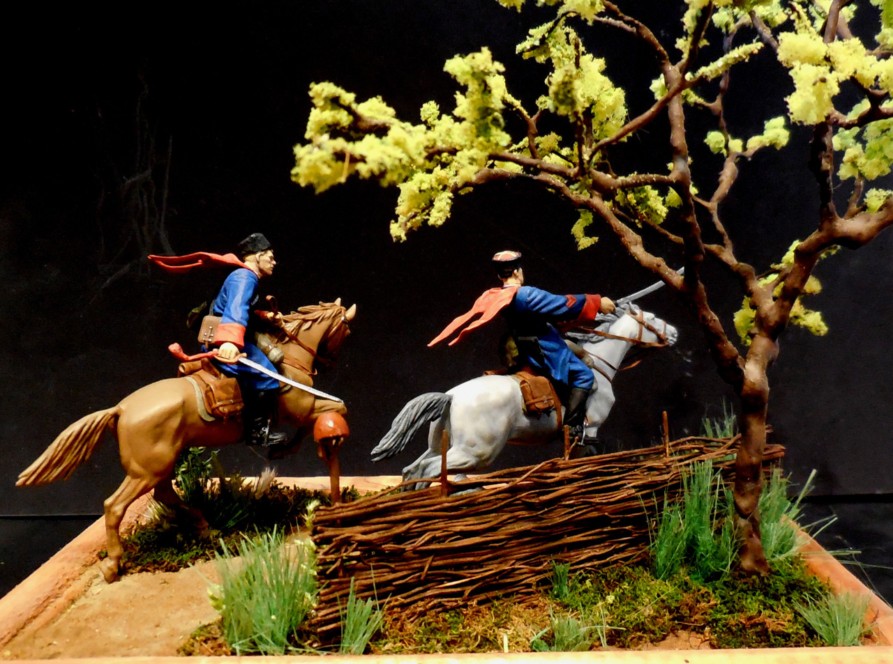 Dioramas and Vignettes: Kuban cossacks, photo #6