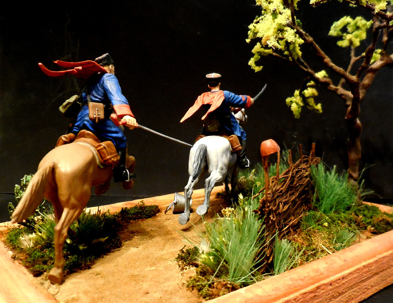 Dioramas and Vignettes: Kuban cossacks, photo #9
