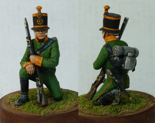 Figures: Private, Leib Guard Chasseurs, 1803-07