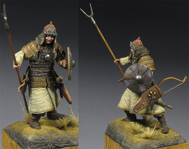 Figures: Khitan warrior