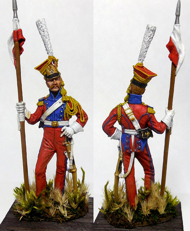 Figures: Guards lancer