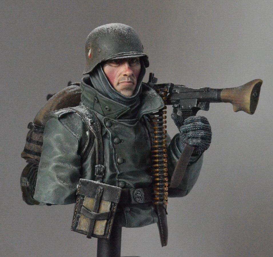 Figures: Machine gunner. Near Moscow 1941, photo #1