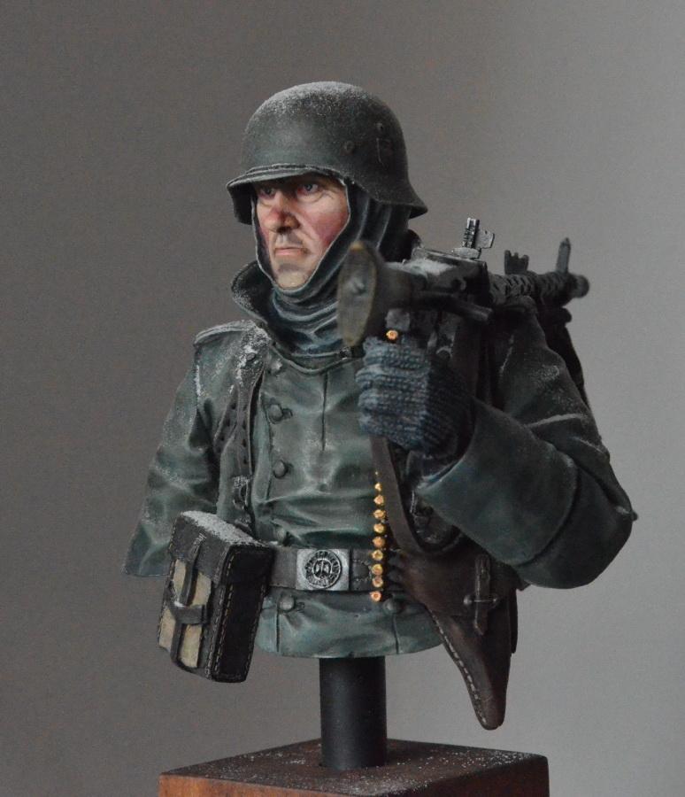 Figures: Machine gunner. Near Moscow 1941, photo #2