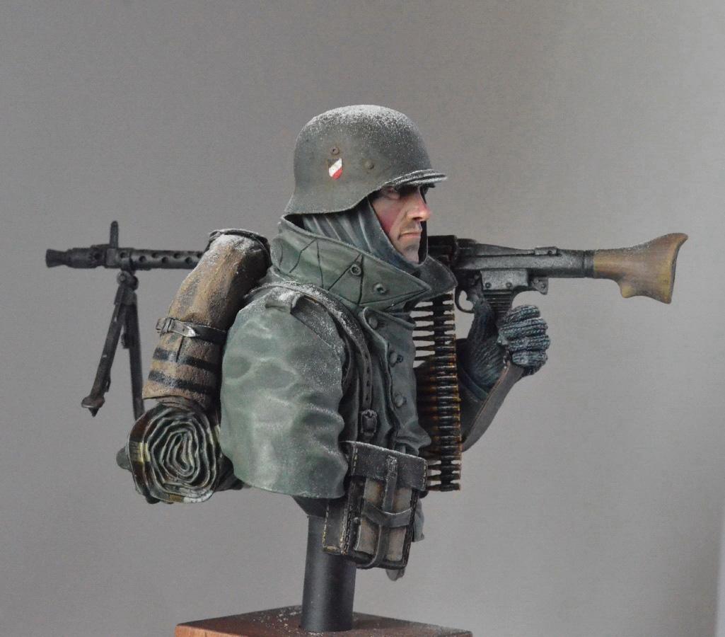 Figures: Machine gunner. Near Moscow 1941, photo #3