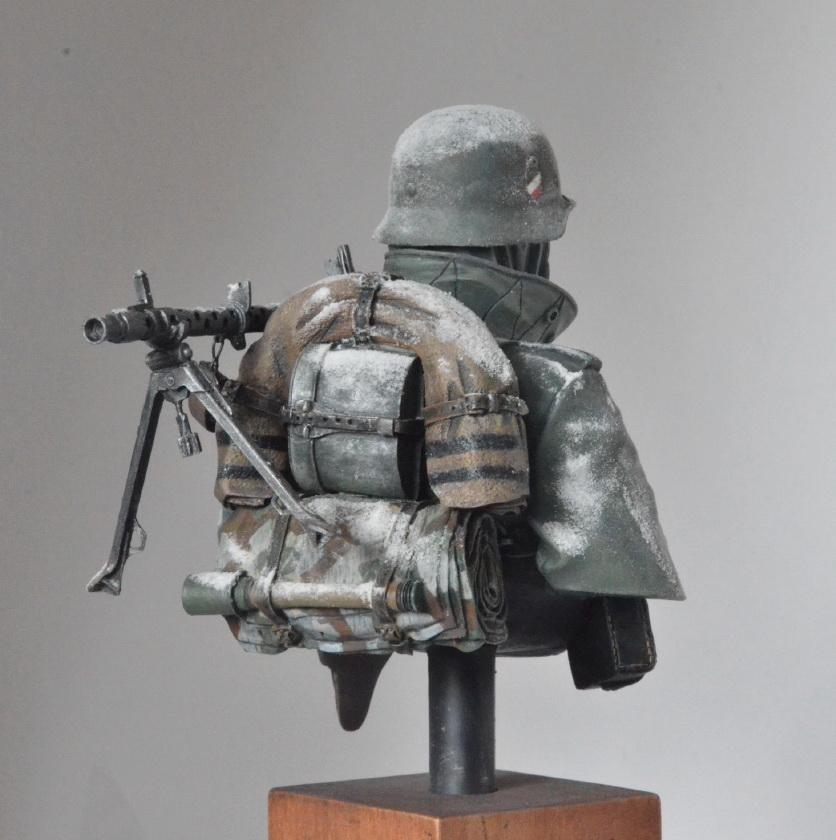 Figures: Machine gunner. Near Moscow 1941, photo #5