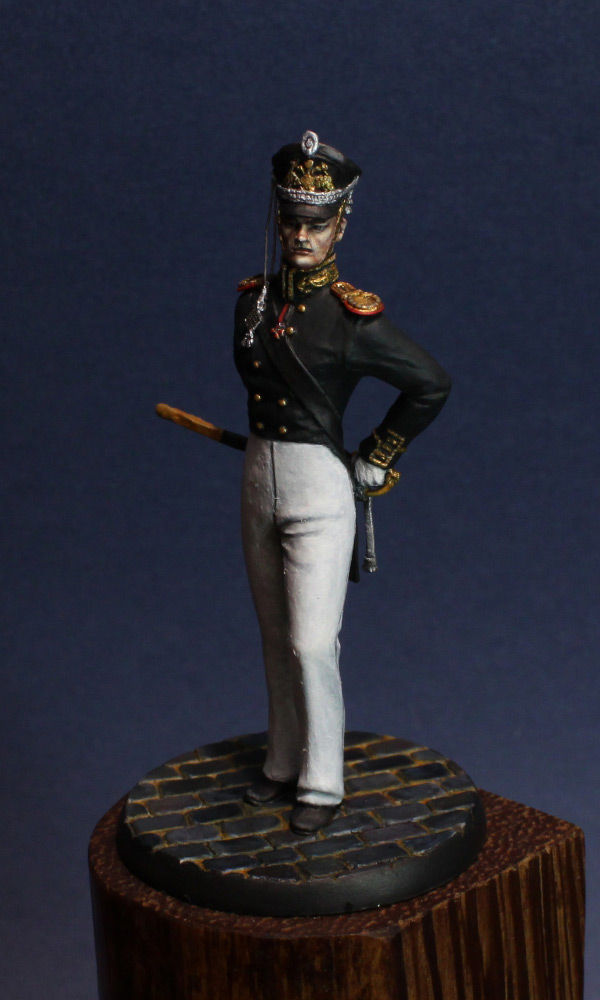 Figures: Senior officer, Guard Equipage, 1812-16, photo #3
