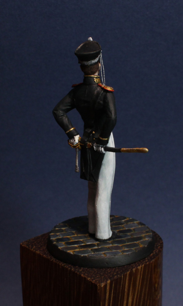 Figures: Senior officer, Guard Equipage, 1812-16, photo #7