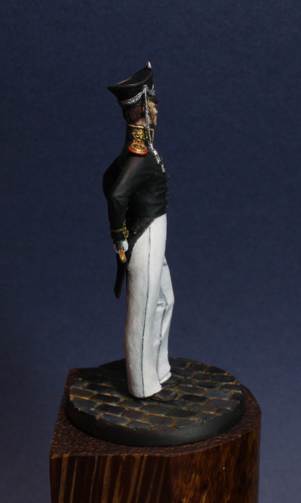 Figures: Senior officer, Guard Equipage, 1812-16, photo #8