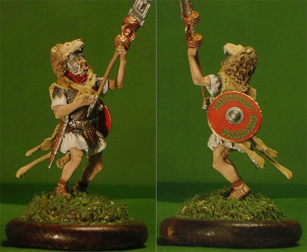 Figures: Roman Signifer, AD 81-96