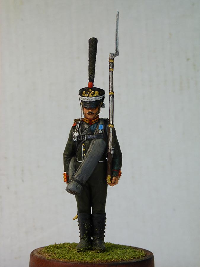 Figures: Carabineer, Leib Guard chasseurs, 1818-23, photo #1