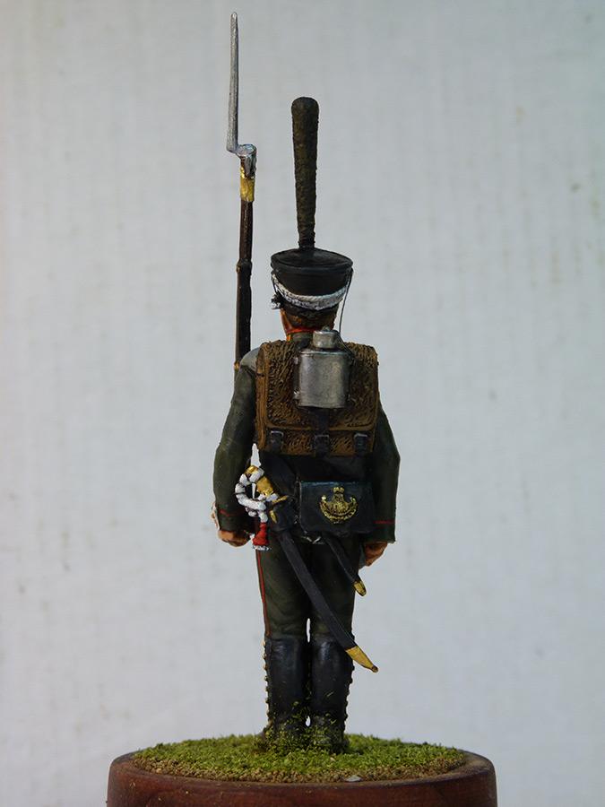 Figures: Carabineer, Leib Guard chasseurs, 1818-23, photo #3