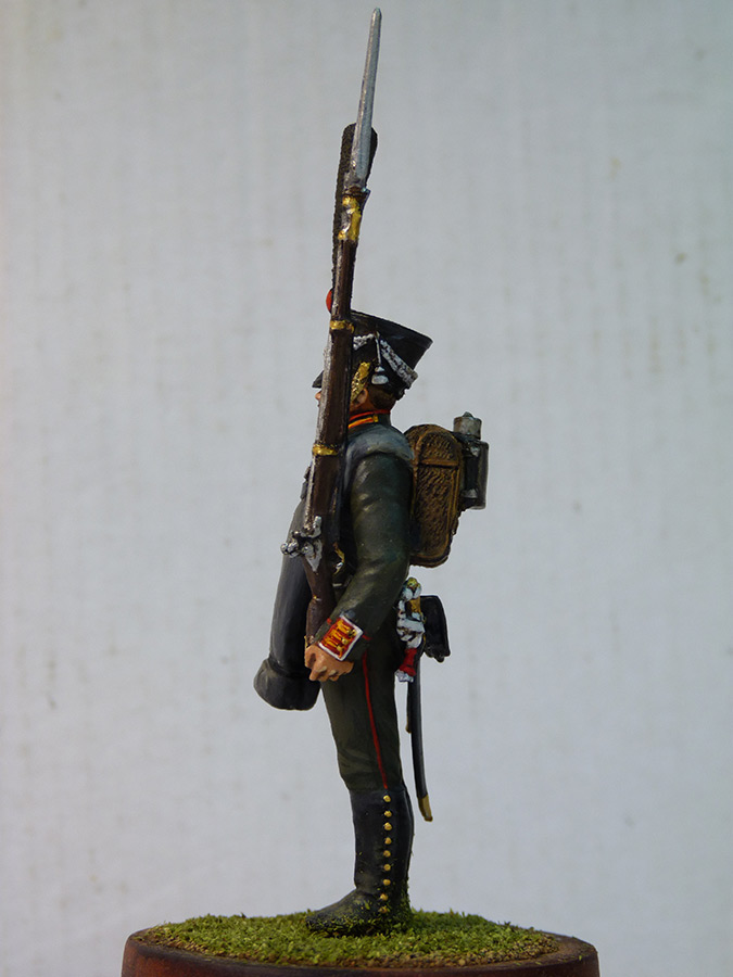 Figures: Carabineer, Leib Guard chasseurs, 1818-23, photo #4